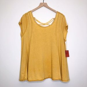 Mossimo Supply Co. Tops - NWT Mossimo from Target Yellow Top - Size XXL